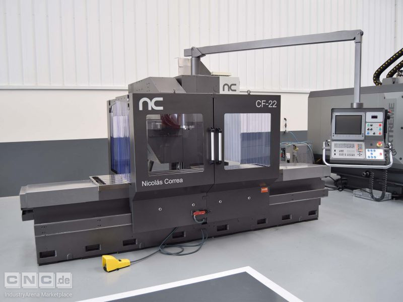 Nicolas Correa CF22/25 Plus UDG Bed Type Milling Machine