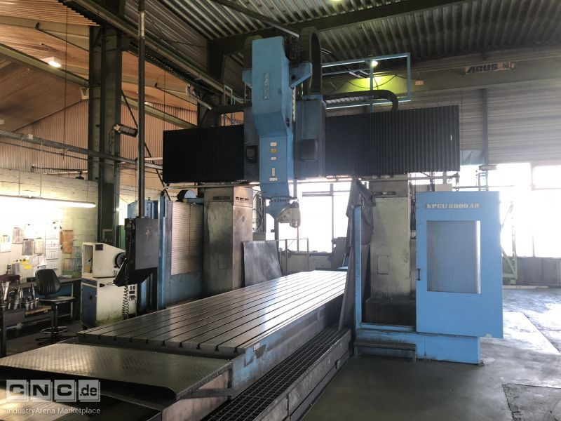 Zayer KPCU-8000 AR Bridge and Gantry Milling Machine