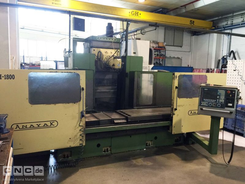 Anayak VH-1800 Bed Type Milling