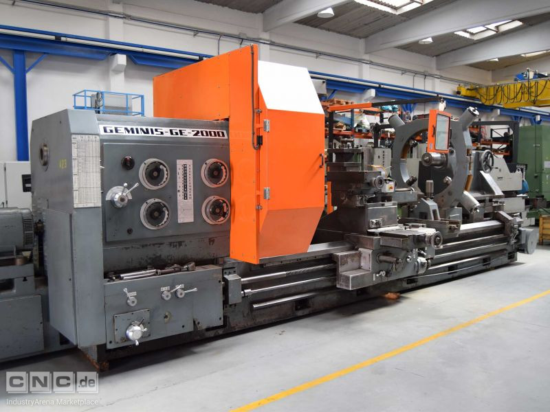 Geminis GE 2000x4000 Conventional Lathe