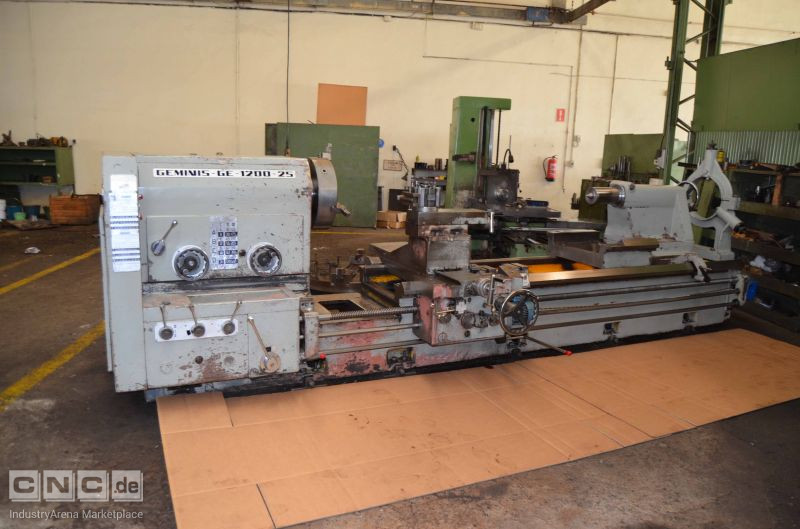Geminis GE 1200x25 Conventional Lathe