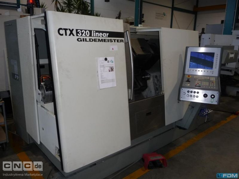 CNC Lathe - Inclined Bed Type GILDEMEISTER CTX 320 linear V4