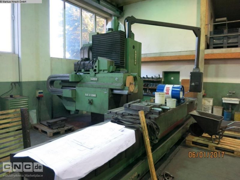 ZAYER KF2200CNC