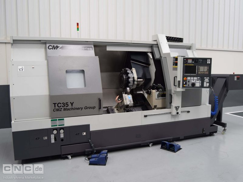 CMZ TC35 Y-1350 CNC Lathes