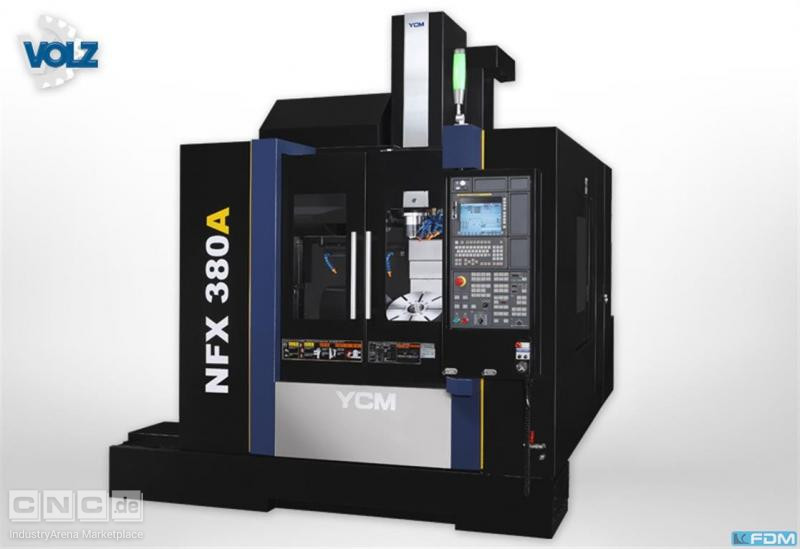 milling machining centers - vertical YCM NFX 380A