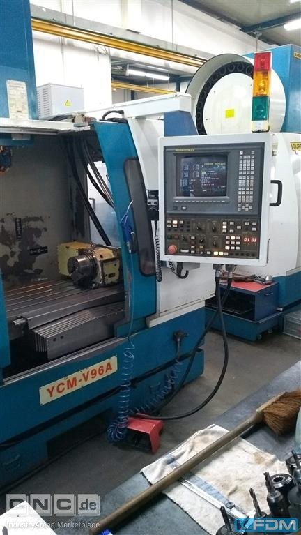 Machining Center - Vertical SUPERMAX YCM V96A