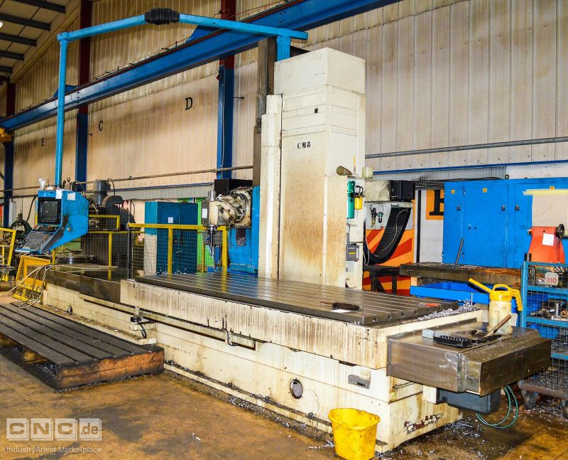 CNC bed mill BUTLER ELGAMIL