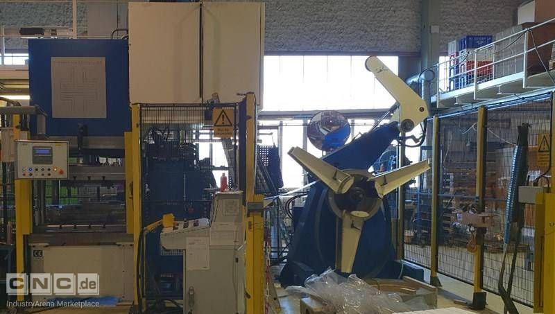 Automatic sheet metal line with hydraulic press Presservice Ljungby