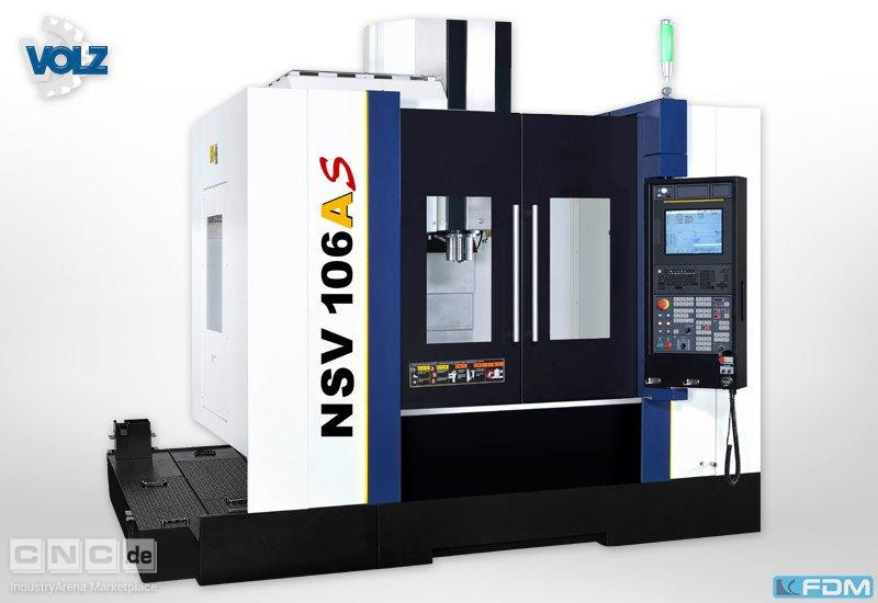 milling machining centers - vertical YCM NSV 106A-S