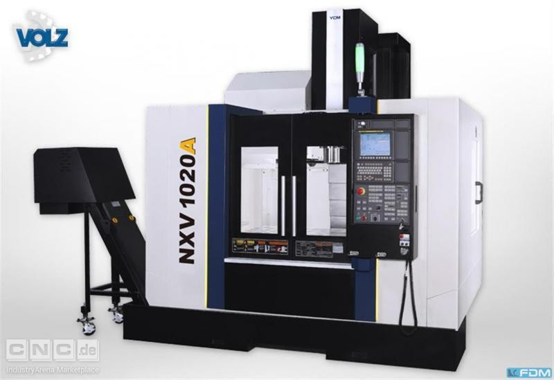 milling machining centers - vertical YCM NXV 1020A