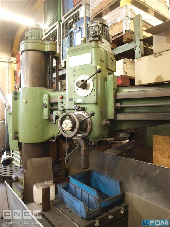 Radial Drilling Machine KOLB RM 63