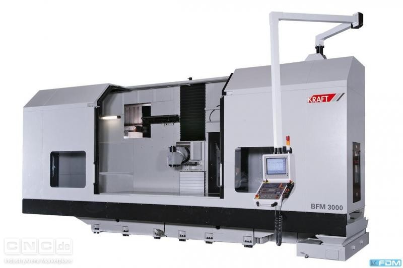 Bed Type Milling Machine - Universal KRAFT BFM 3000