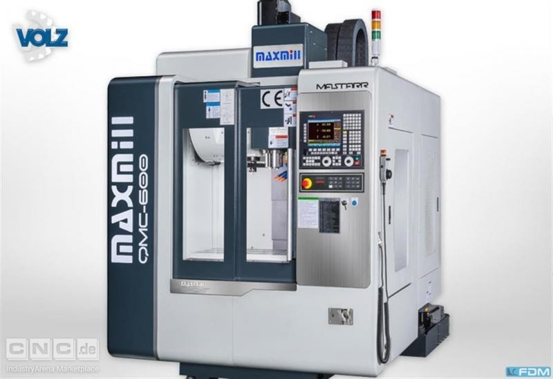 milling machining centers - vertical MAXMILL QMC 600