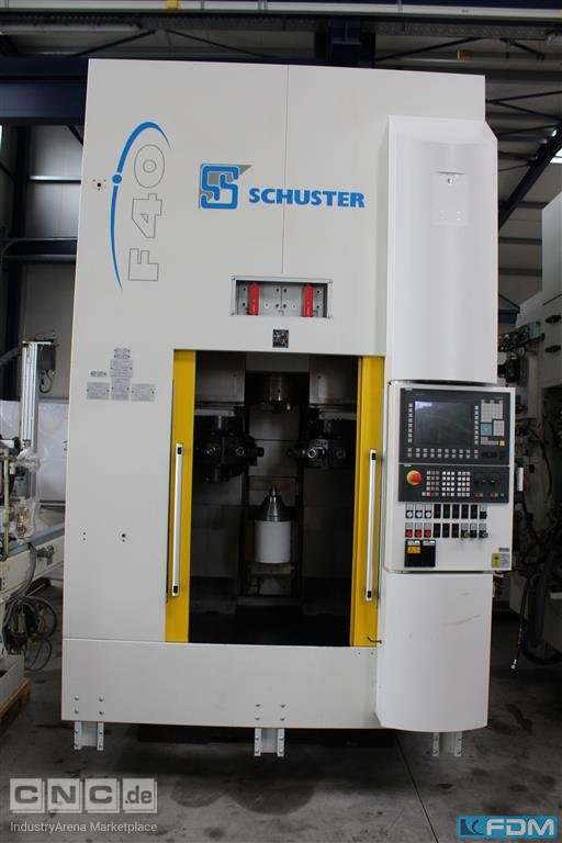 Vertical Turning Machine SCHUSTER F40