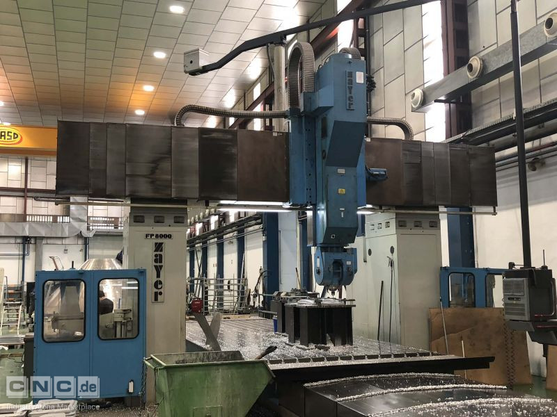 Zayer FP 8000 Bridge and Gantry Milling Machines