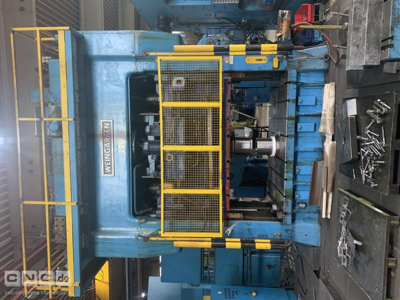 Weingarten XVDRR VI Double Column Hydraulic Press