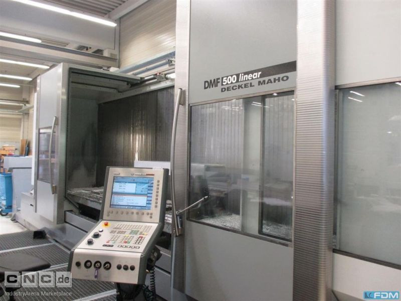 Machining Center - Vertical DMG DECKEL MAHO GILDEMEISTER DMF 500 Linear