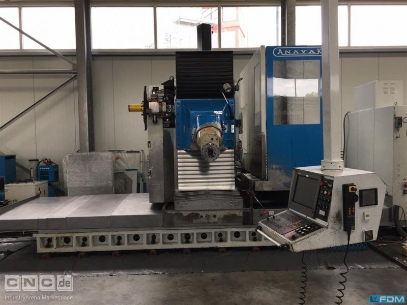 Bed Type Milling Machine - Universal ANAYAK HVM 3300