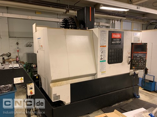 Mazak Nexus 510C-II CNC Vertical Turning Center