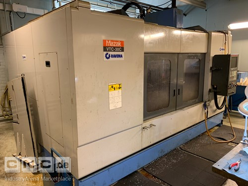 Mazak VTC 30C CNC Vertical Turning Center