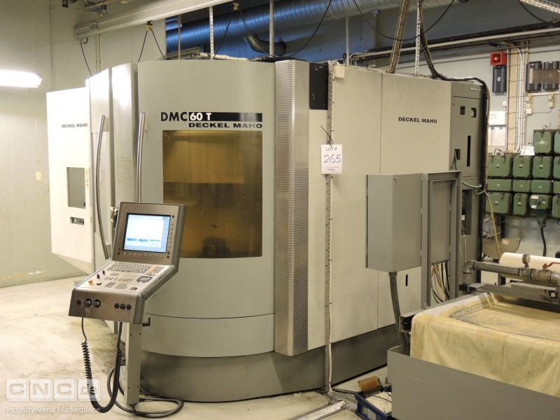 DMG Deckel-Maho DMC60T CNC Vertical Turning Center