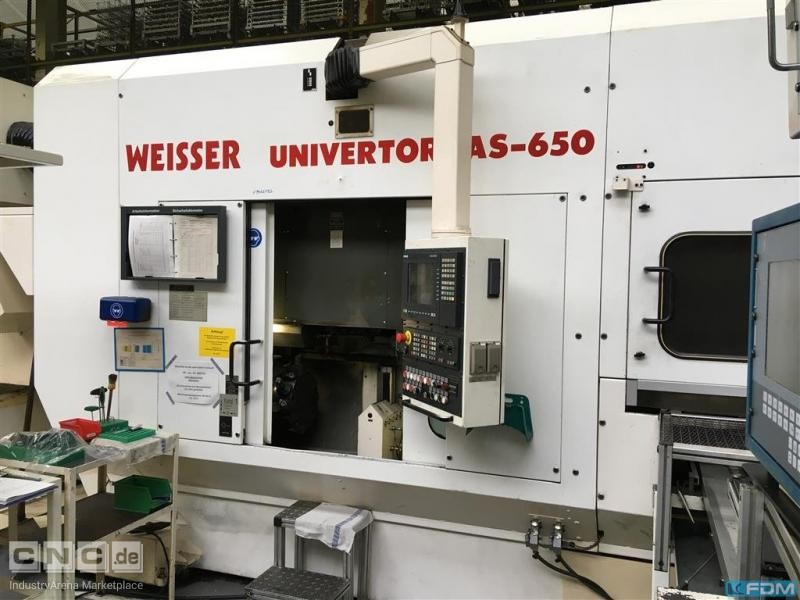 CNC Lathe WEISSER Univertor AS-650 CNC