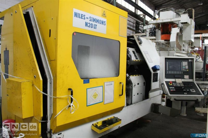 CNC Lathe - Inclined Bed Type NILES-SIMMONS N 20 LT/1000