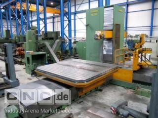 CNC Floortype milling machine PARPAS, X=4000 mm