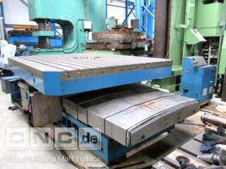 Rotary table FX, 3000x3000, 60 ton