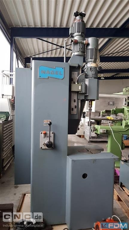 Honing Machine - Internal - Vertical NAGEL P1V0-350