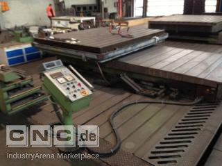 Rotary table  SCHIESS Froriep, 3000x2500 mm, 40 ton