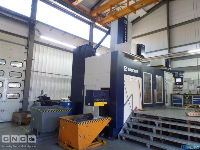 Vertical Turret Lathe - Double Column DANOBAT VTC-2500