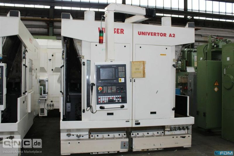 Vertical Turning Machine WEISSER Univertor A-2