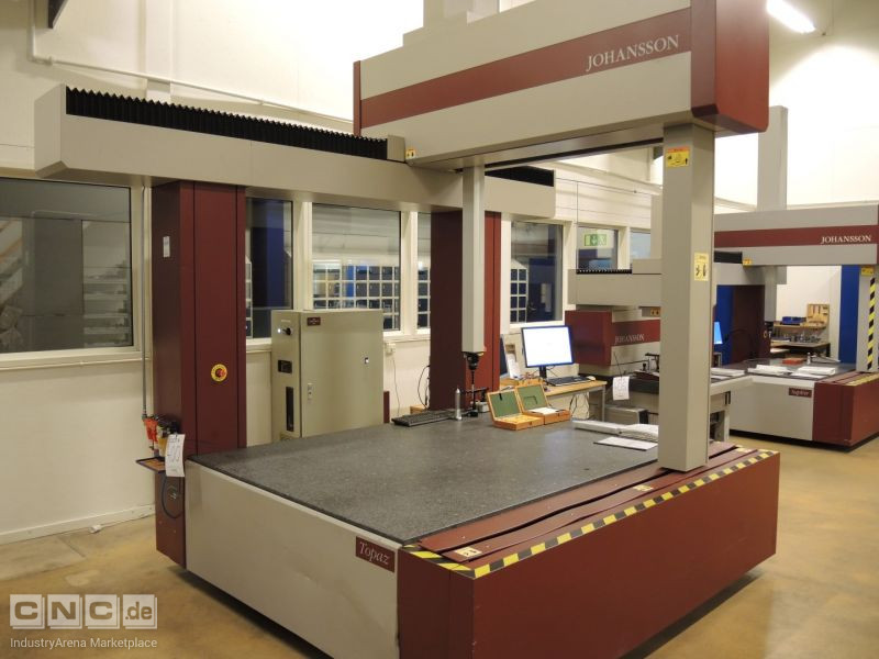 Johansson Topaz Coordinate Measuring Machine
