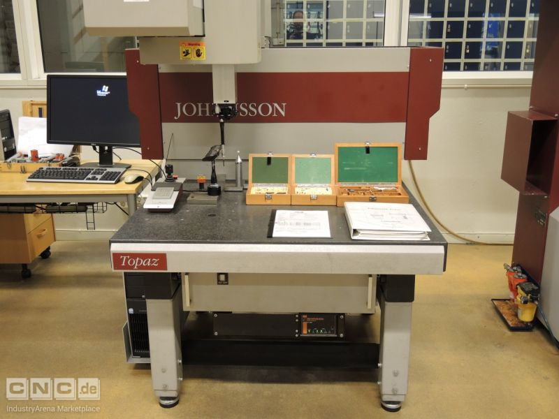 Johansson Topaz Coordinate Measuring Machine (1999)