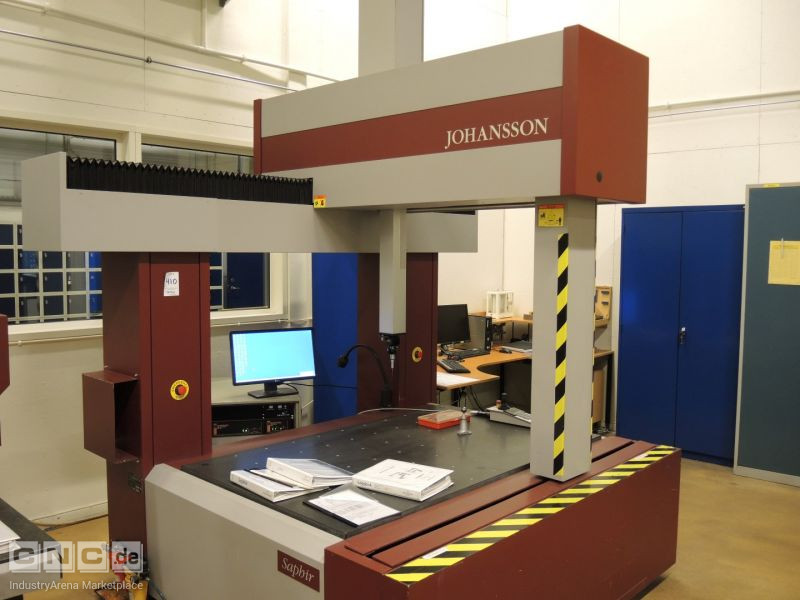 Johansson Saphir Coordinate Measuring Machine