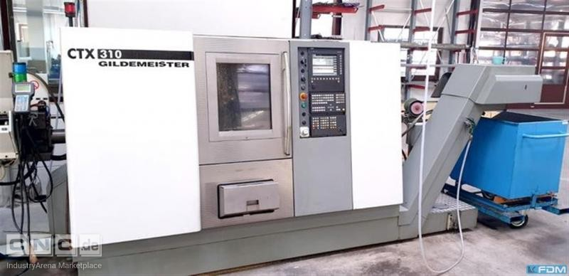 CNC Turning- and Milling Center GILDEMEISTER CTX 310 V 1