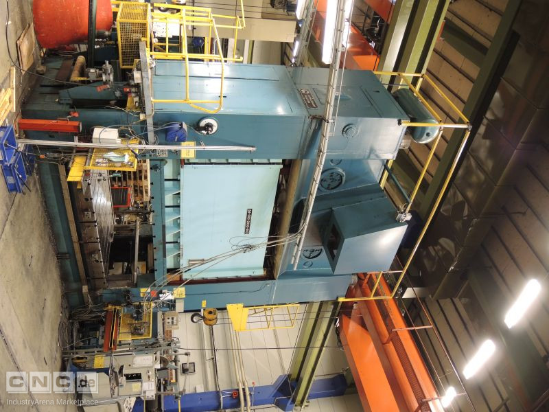 Cowlishaw Walker Co S4-600-2800-300 600 Ton Press Line