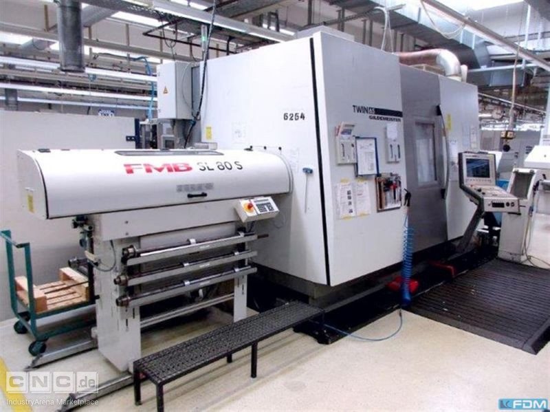 CNC Turning- and Milling Center GILDEMEISTER TWIN 65-2