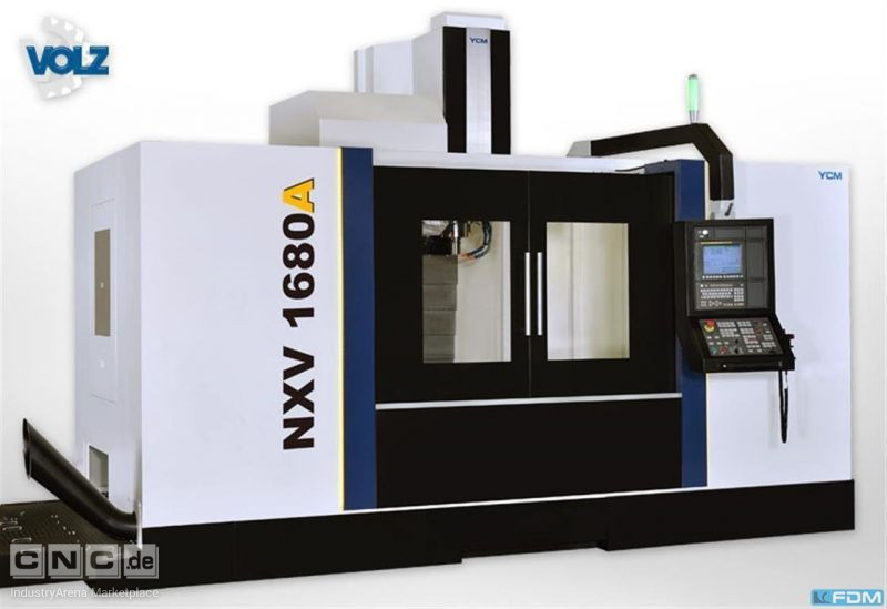 milling machining centers - vertical YCM NXV 1680A