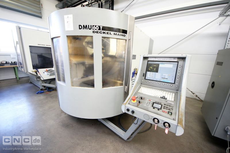 Deckel Maho DMU 60 T CNC Vertical Machining Center
