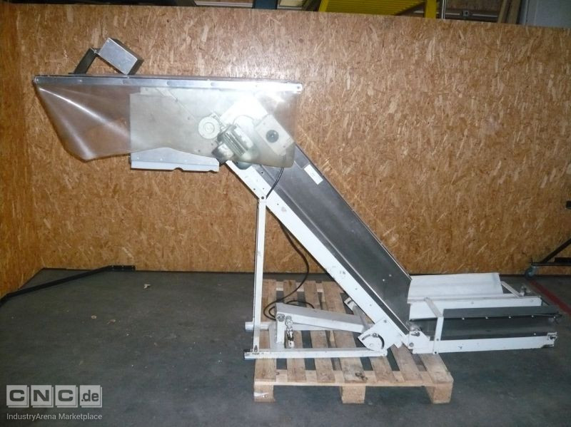 Angled Belt Conveyor ALBS TWDM 8+15/40 - splitted belt
