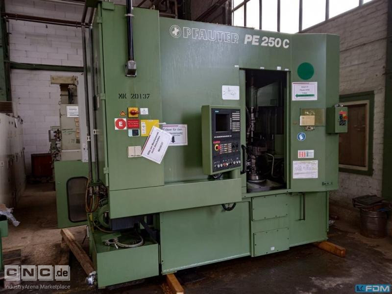 Gear Hobbing Machine - Vertical PFAUTER PE 250