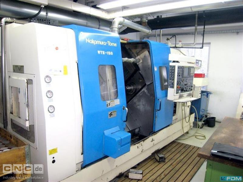 CNC Turning- and Milling Center NAKAMURA TOME WTS 150