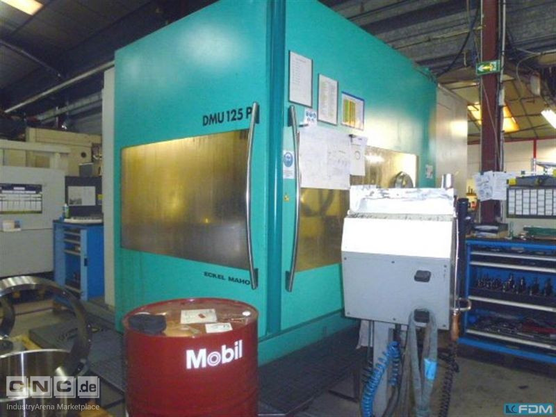 Machining Center - Universal DECKEL MAHO DMG DMU 125 P hi-dyn