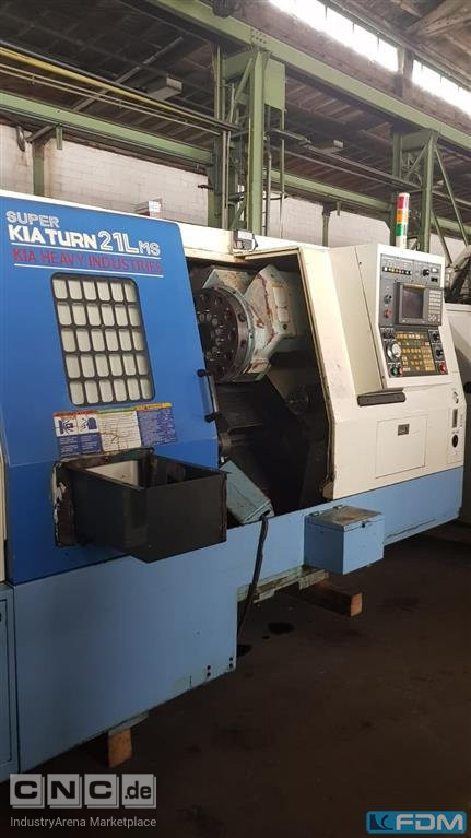 CNC Turning- and Milling Center KIA Superkiaturn21L