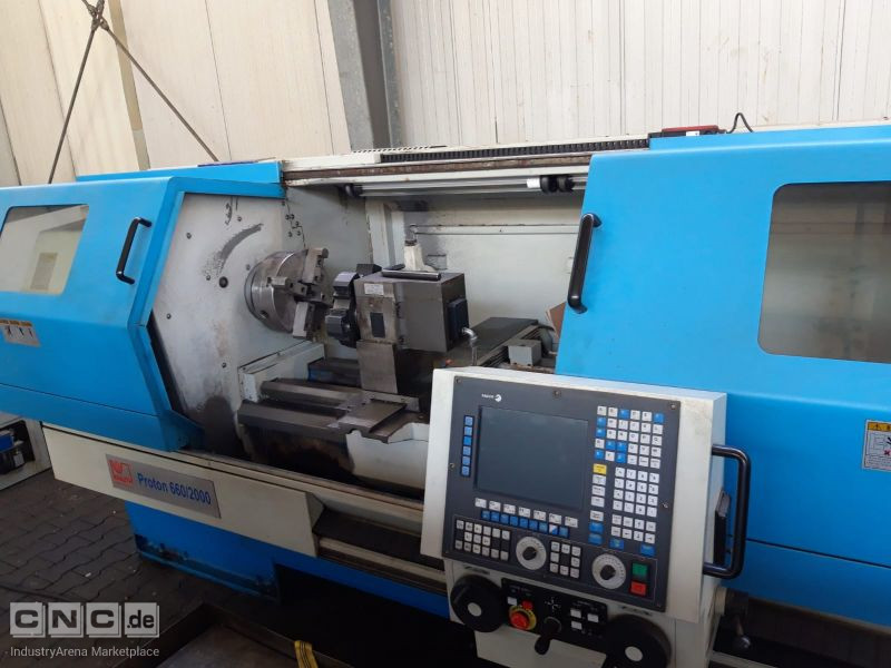 Proton 660 / 2000 Teach in Lathe