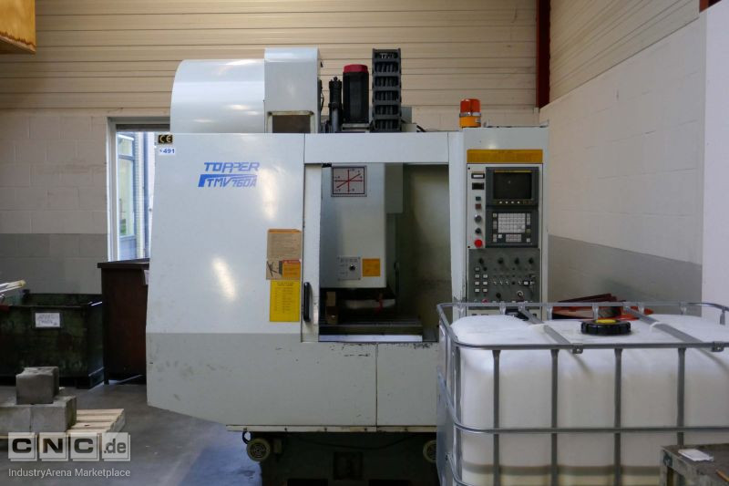 Topper TMV 760 CNC Machining Center