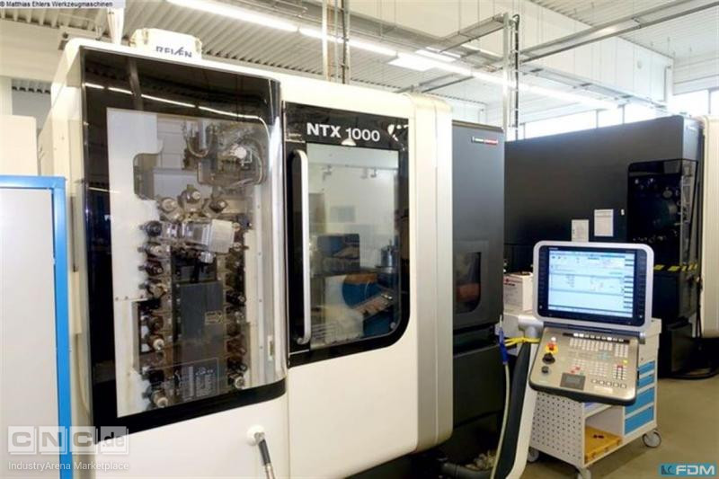 CNC Turning- and Milling Center MORI SEIKI NTX 1000/SZM