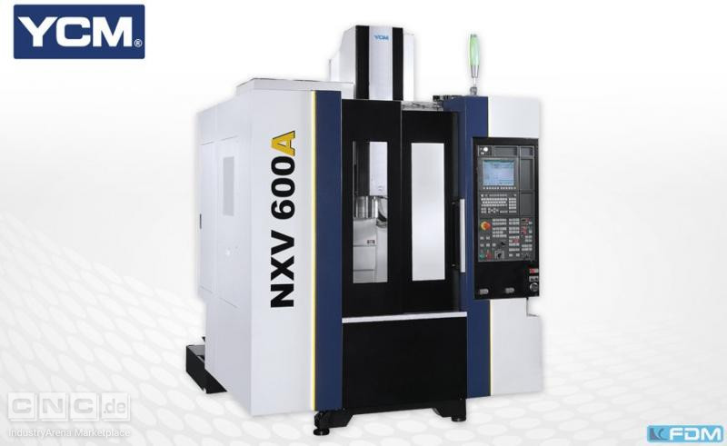 milling machining centers - vertical YCM NXV 600A